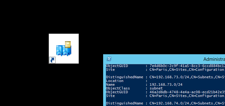 Export Subnets from Active Directory Sites and Services